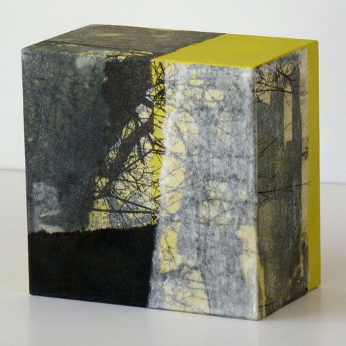 Kunstobjekt von Brigitt Müller aus der Kunstserie herumstreifen